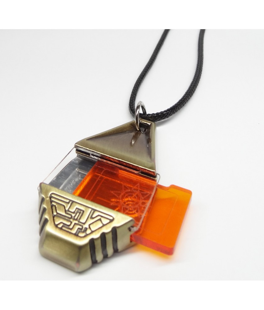 High Quality Metal Digimon Tag with Crest of Courage