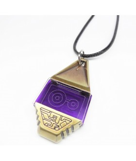 High Quality Metal Digimon Tag with Crest of Knowledge