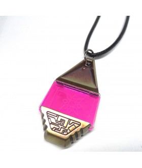 High Quality Metal Digimon Tag with Crest of Light