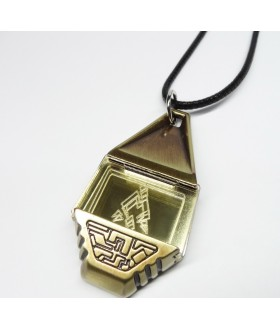 High Quality Metal Digimon Tag with Crest of Miracles