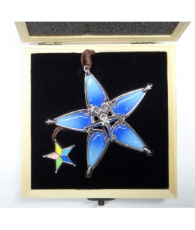 High Quality Metal Aqua's Wayfinder from Kingdom Hearts