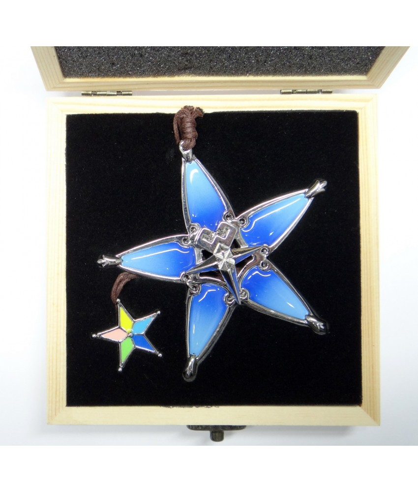 High Quality Metal Aqua's Wayfinder from Kingdom Hearts