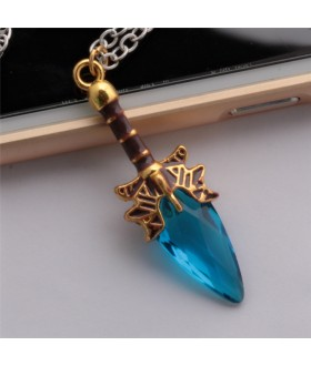 Defense of the Ancients Dota 2 Aghanim's Scepter Pendant Necklace - Blue