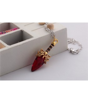 Defense of the Ancients Dota 2 Aghanim's Scepter Pendant Necklace - Red