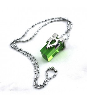 Sword Art Online Crystal Charm Necklace - Green