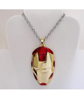 Iron Man Mask Pendant Necklace