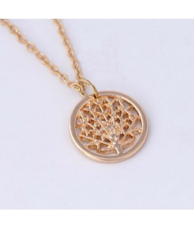 Olive Tree Pendent Necklace from Movie The Tree of Life