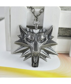 Wolf Medallion from The Witcher 3: Wild Hunt - Gun Grey