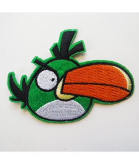Angry Bird Boomerang Bird Embroidered Iron On / Sew On Patch