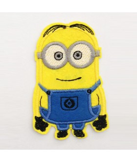 Despicable Me Movie smile MINION Embroidered Iron On / Sew On Patch