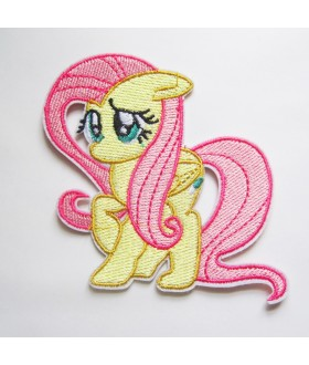 My Little Pony Friendship Is Magic - Fluttershy Embroidered Iron On / Sew On Patch