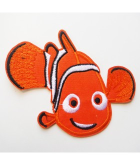 Nemo clowfish in Finding Nemo Movie Disney Embroidered Iron On / Sew On Patch