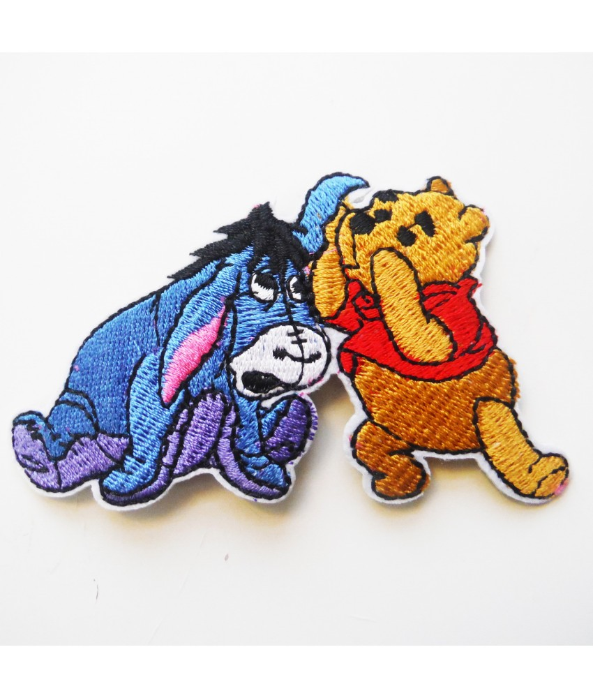 Winnie the Pooh Embroidered Iron On / Sew On Patch - 8