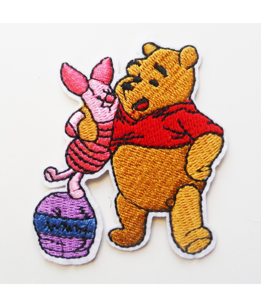 Winnie the Pooh Embroidered Iron On / Sew On Patch - 9