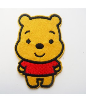 Winnie the Pooh Embroidered Iron On / Sew On Patch - 2
