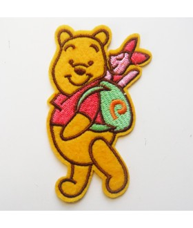 Winnie the Pooh Embroidered Iron On / Sew On Patch - 6