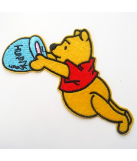 Winnie the Pooh Embroidered Iron On / Sew On Patch - 4
