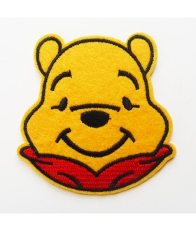 Winnie the Pooh Embroidered Iron On / Sew On Patch - 1